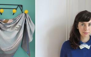 """RENCONTRE ! Depuis Roubaix découvrez l'univers """"rétro contemporain"""" d'Andrée Sorant. Jeune marque d'accessoires. -- Voir le portrait --"""